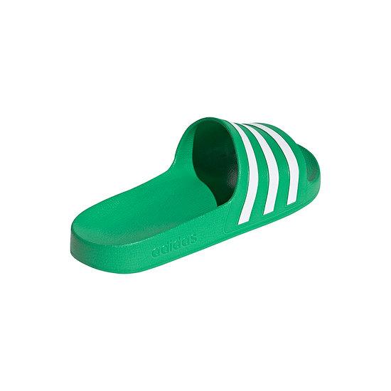 Adidas Badesandale ADILETTE AQUA Grün/Weiß