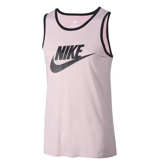 Nike Tanktop ACE Logo Rosegold/Schwarz