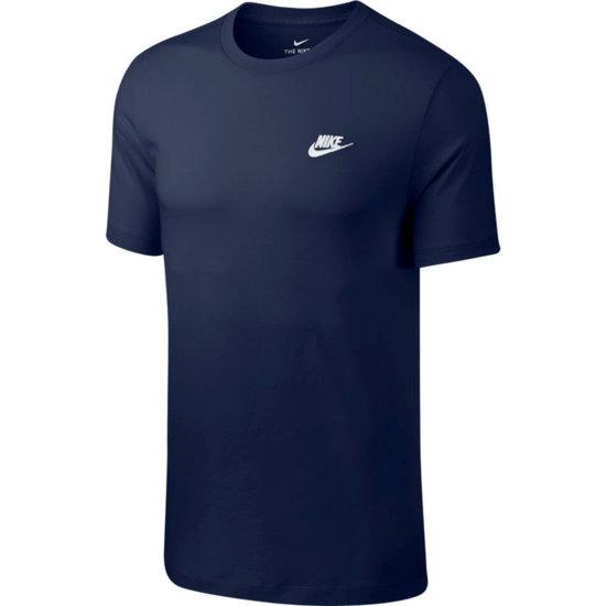 Nike T-Shirt Klassik Dunkelblau