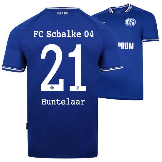 Umbro FC Schalke 04 Heim Trikot HUNTELAAR 2020/2021 Kinder