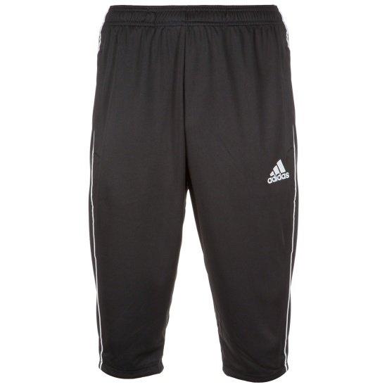 Adidas Trainingshose 3/4 lang Core 18 Schwarz