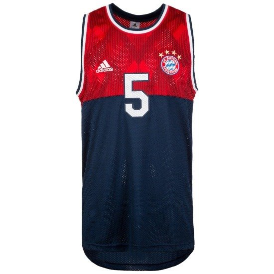 Adidas FC Bayern München TANKTOP Rot/Blau