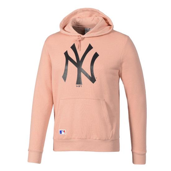 New Era New York Yankees Hoodie Seasonal Team Logo lachs