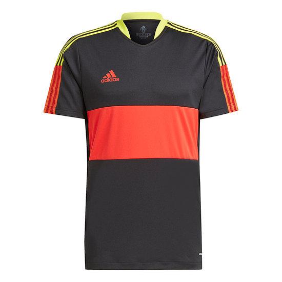 Adidas T-Shirt TIRO Jersey Schwarz/Rot