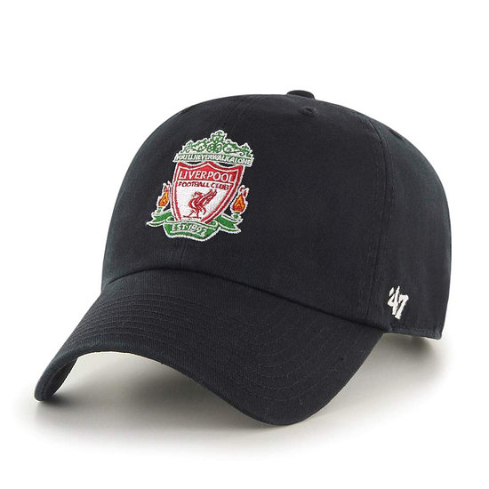 47 Brand FC Liverpool Cap Liverpool FC '47 CLEAN UP schwarz