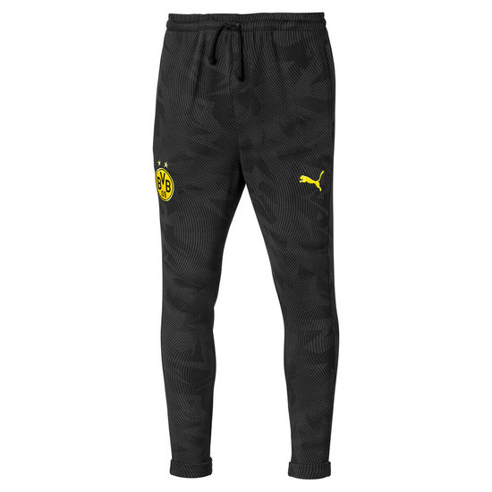 Puma Borussia Dortmund Freizeithose lang Schwarz