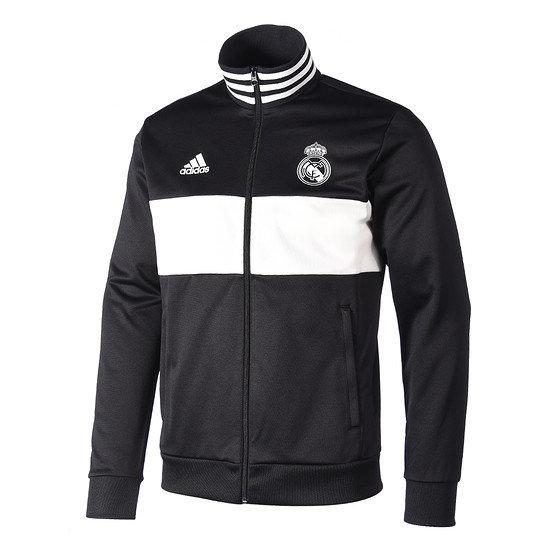 Adidas Real Madrid Freizeitjacke Schwarz