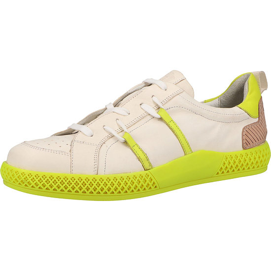 Melvin&Hamilton Sneaker Leder weiß/gelb
