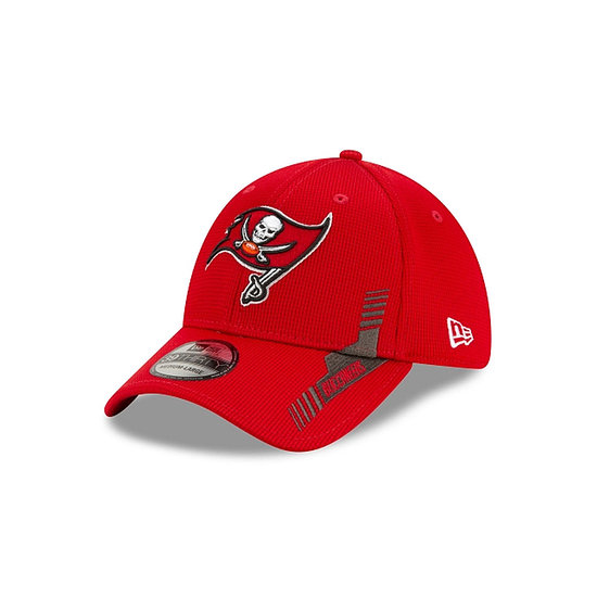 New Era Tampa Bay Buccaneers Cap Sideline Heim 39THIRTY rot