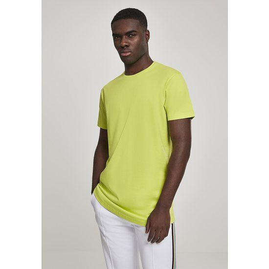 URBAN CLASSICS T-Shirt Shaped Long eisgelb