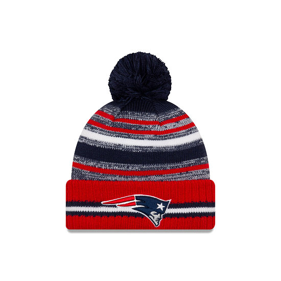 New Era New England Patriots Beanie Sport Knit Cold Weather rot