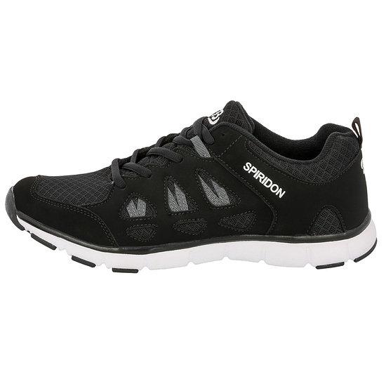 Brütting Sneaker Spiridon Fit schwarz/weiß