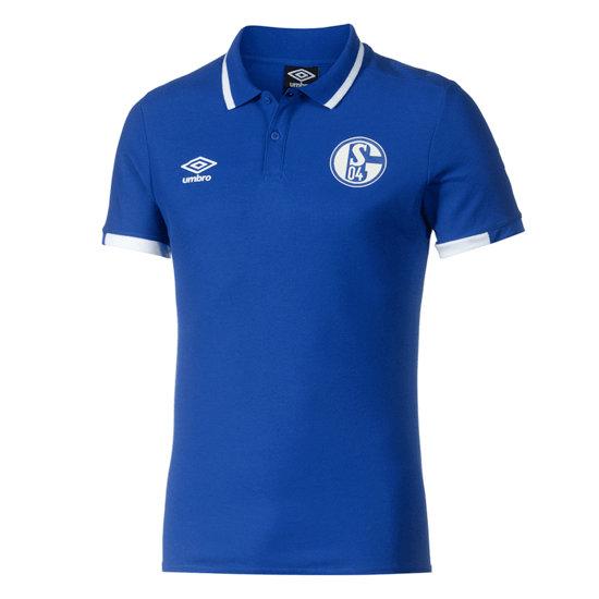 Umbro FC Schalke 04 Poloshirt Klassisch Blau
