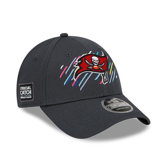 New Era Tampa Bay Buccaneers Cap Crucial Catch 9FORTY grau