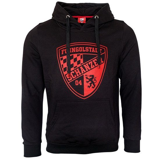 FC Ingolstadt 04 Hoodie Team schwarz