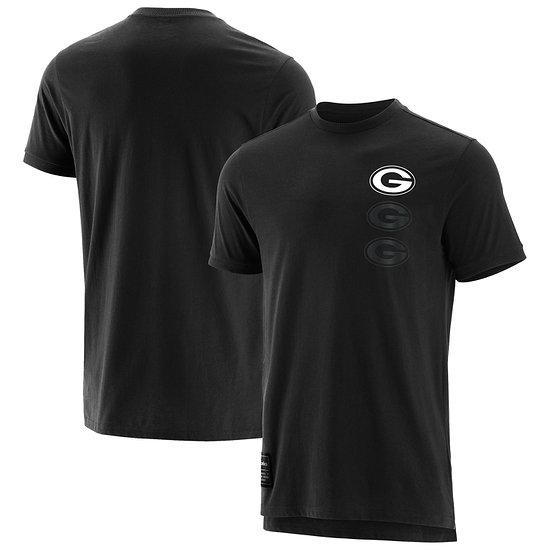Fanatics Green Bay Packers T-Shirt Mono schwarz