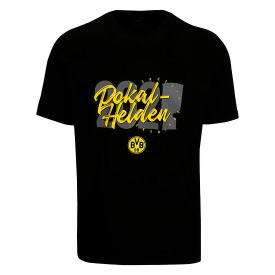 Puma Borussia Dortmund T-Shirt DFB Pokalsieger 2021