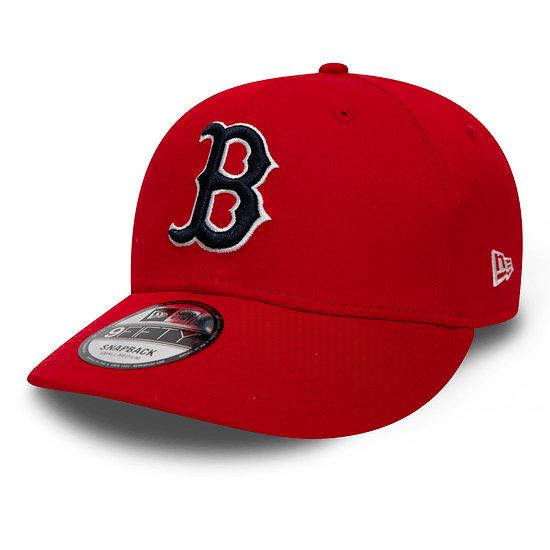 New Era Boston Red Sox Snapback Cap 9FIFTY Stretch rot/weiß