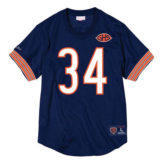 Mitchell & Ness Chicago Bears Fanshirt Mesh N&N Walter Payton navy