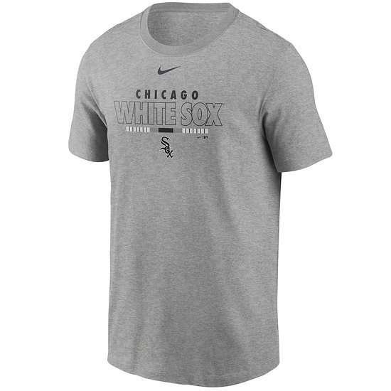 Nike Chicago White Sox T-Shirt Color Bar grau