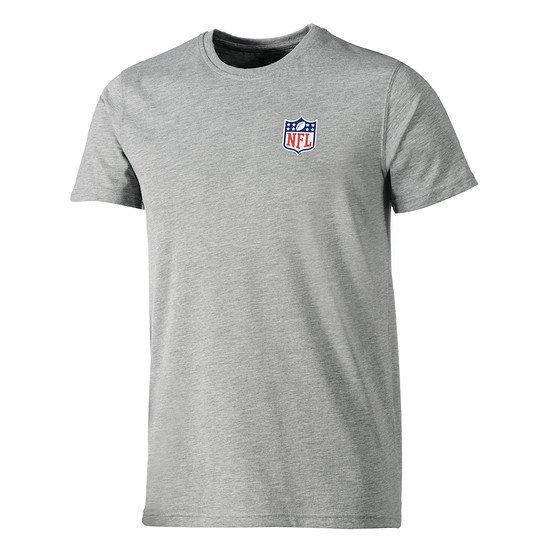 New Era T-Shirt NFL Shield Team grau