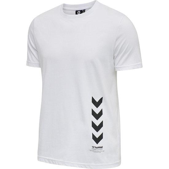 hummel T-Shirt Duncan Bio-Baumwolle weiß