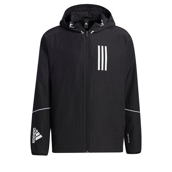 Adidas Kapuzenjacke Windbreaker Schwarz