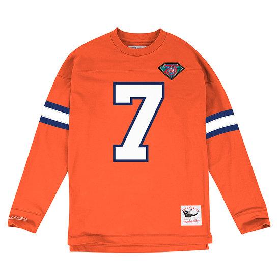 Mitchell & Ness Denver Broncos Longsleeve N&N John Elway orange
