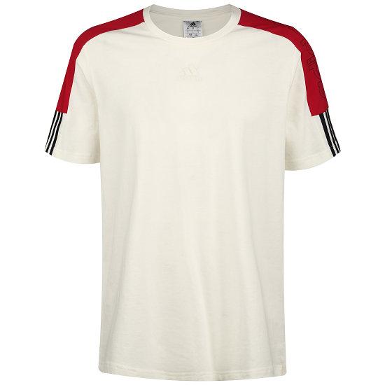 Adidas T-Shirt COL BLOCK Weiß
