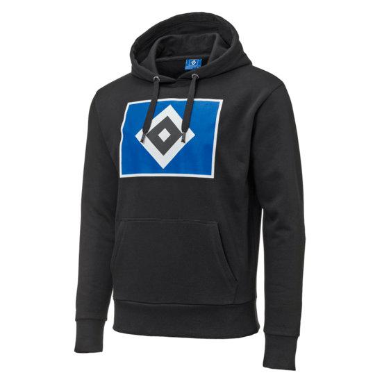Hamburger SV Hoodie Raute Schwarz