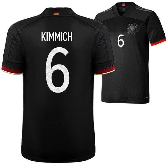 Adidas Deutschland EM 2021 DFB Trikot Auswärts KIMMICH Kinder