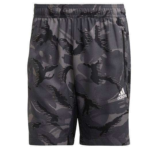 Adidas Freizeitshorts Camo M Grau