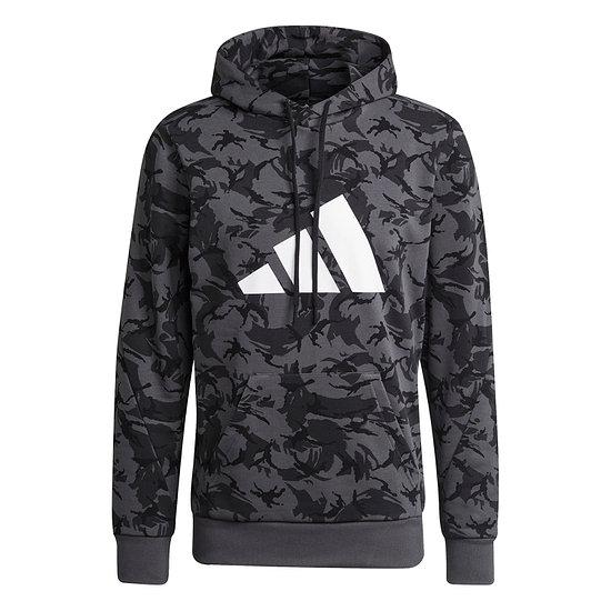 Adidas Hoodie Camo AOP Grau