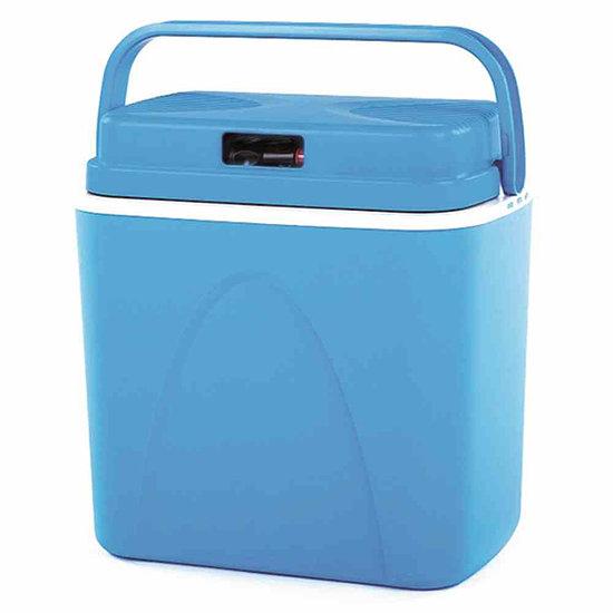 Connabride Elektrokühlbox 22 Liter, 12 Volt blau