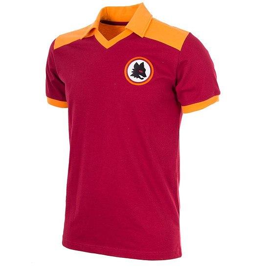 Copa AS Rom 1980 Short Sleeve Retro Shirt