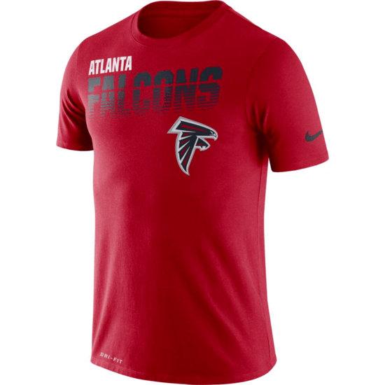 Nike Atlanta Falcons T-Shirt NK Rot