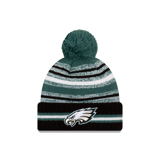 New Era Philadelphia Eagles Beanie Sport Knit Cold Weather schwarz