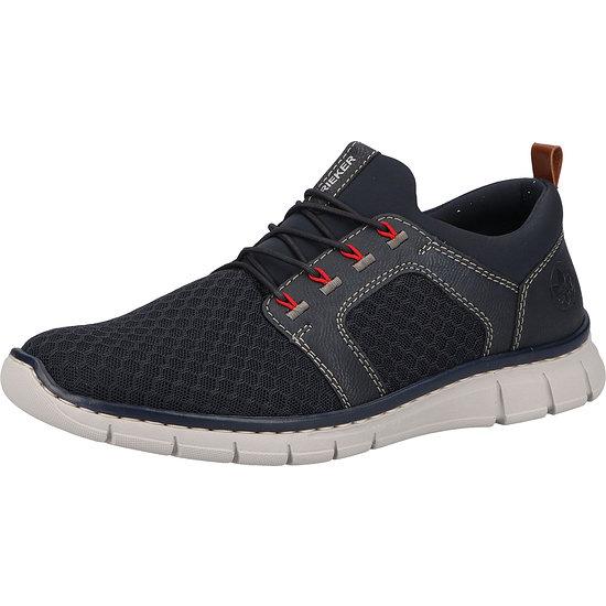 Rieker Sneaker Lederimitat navy/lake/amaretto