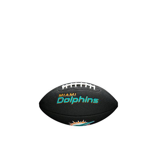 Wilson Miami Dolphins Football Mini Team Logo schwarz