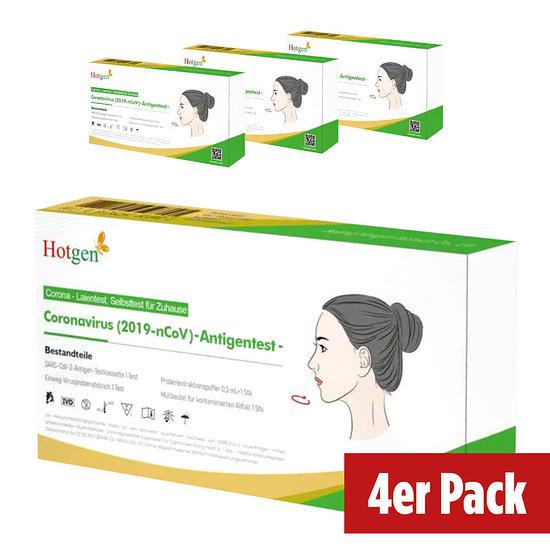 Hotgen Coronavirus (2019-nCoV) Antigentest 4er Pack