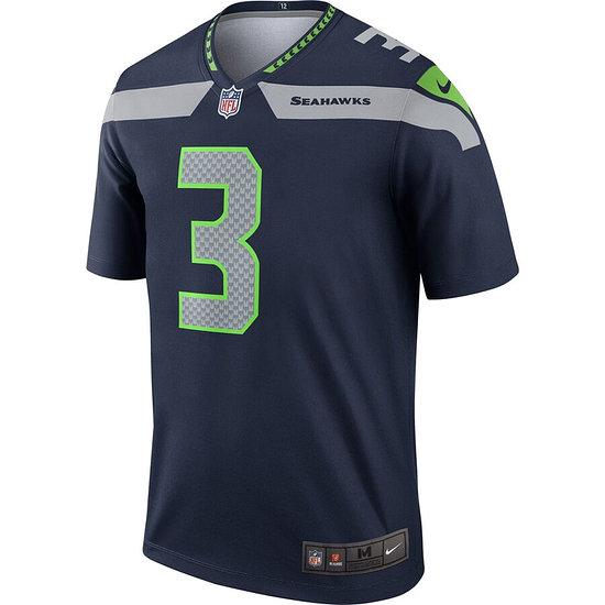 Nike Seattle Seahawks Trikot Heim Legend Wilson navy
