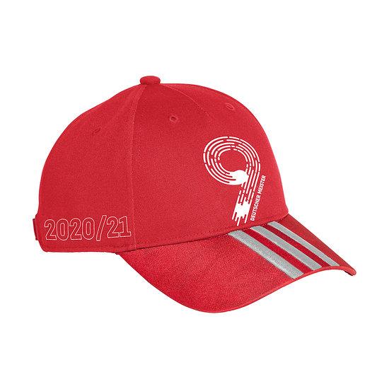 Adidas FC Bayern München Cap MEISTER 2021 Rot
