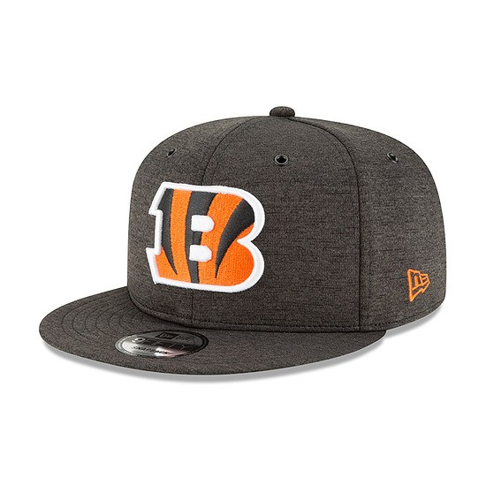 New Era Cincinnati Bengals Cap 9FIFTY Sideline schwarz