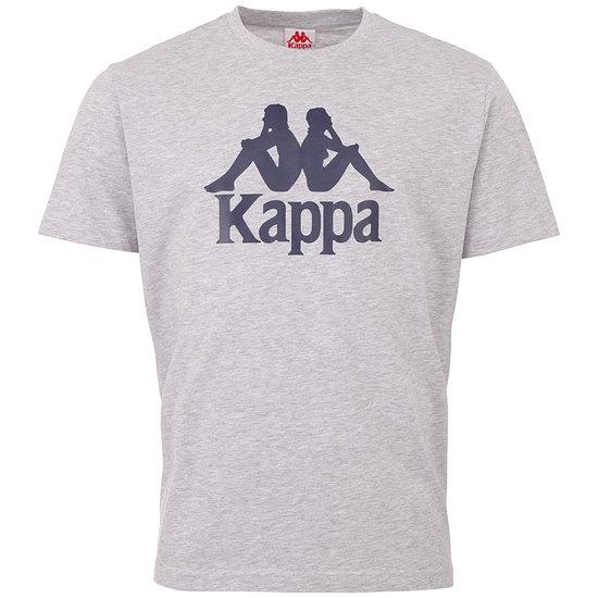 Kappa T-Shirt CASPAR Grau/Blau