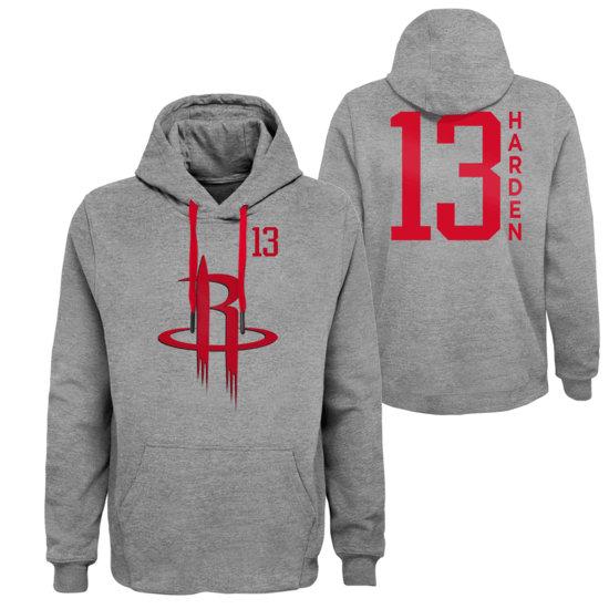 Outerstuff EMEA Houston Rockets Hoodie James Harden G.O.A. grau