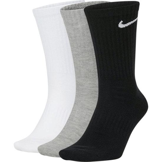 Nike Socken 3er Pack Everyday Lang SW/Weiß/Grau