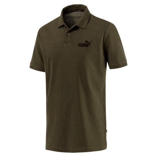 Puma Polo Shirt Pique ESS Dunkelgrün