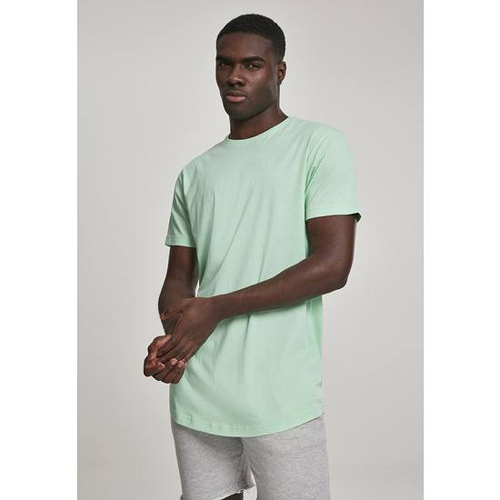 URBAN CLASSICS T-Shirt Shaped Long neomint