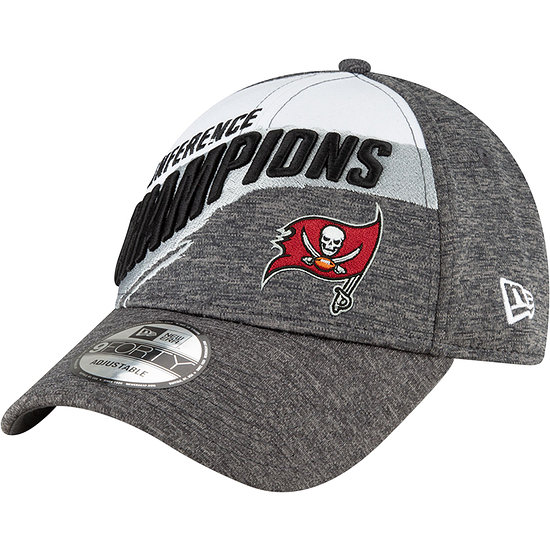 New Era Tampa Bay Buccaneers Cap Conference Champion 9FORTY grau