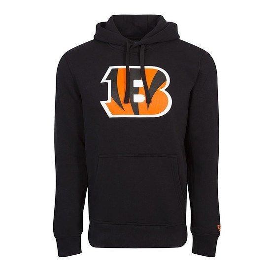 New Era Cincinnati Bengals Hoodie Team Logo schwarz